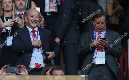 Liverpool CEO Peter Moores with Tom Werner