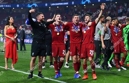 Editorial photo of Tottenham Hotspur v Liverpool, UEFA Champions League Final, Football, Wanda Metropolitano Stadium, Madrid, Spain - 01 Jun 2019