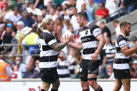 Editorial picture of England XV v The Barbarians - Quilter Cup Series - 02 Jun 2019