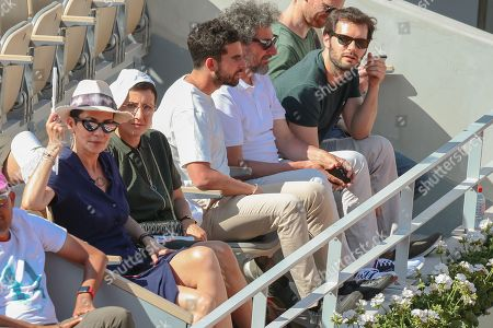 Cristina Cordula, Gary Mihaileanu, Radu Mihaileanu and Hugo Becker