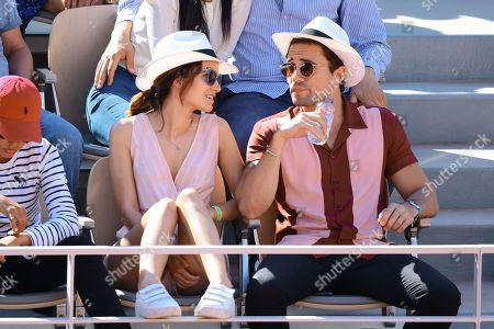 Editorial picture of Celebrities at the French Open Tennis Championships, Day 08, Roland Garros, Paris, France - 02 June 2019