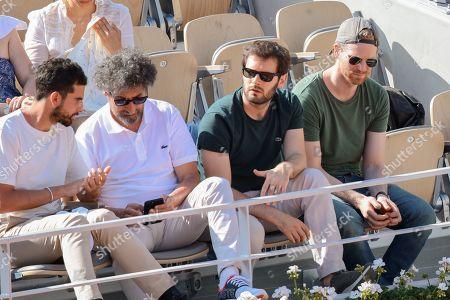 Radu Mihaileanu, Gary Mihaileanu and Hugo Becker