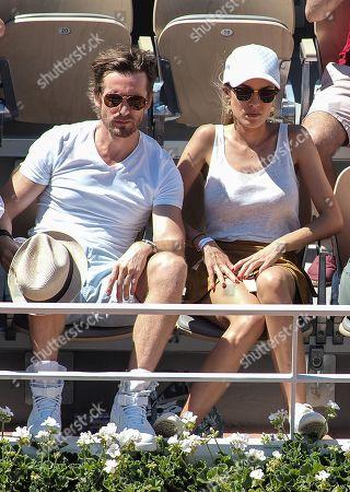 Philippe Lacheau and his girlfriend Elodie Fontan