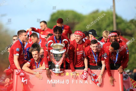 Liverpool FC Champions League victory parade Stock Photos