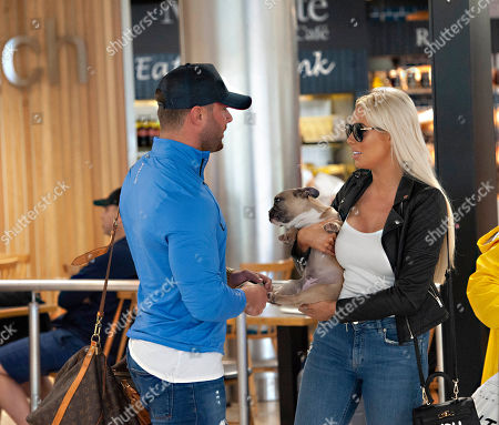 Ex 'Love Islander' Shannen Reilly McGrath spotted in Dublin airport with Ex 'Geordie Shore' member Ricci Guarnaccio