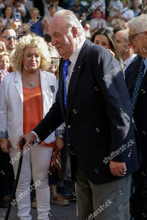 Naomi Osaka, Dominika Cibulkova. Spain's former King Juan Carlos arrives for a bullfight at the bullring in Aranjuez, Spain, . Former King Juan Carlos withdraws from official events and retires from public life from June 2, on the five-year anniversary of his abdication of the throne