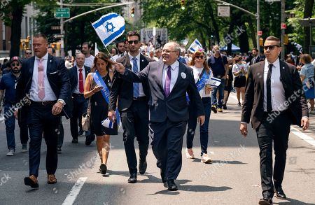 Editorial picture of Celebrate Israel Parade, New York, USA - 02 Jun 2019