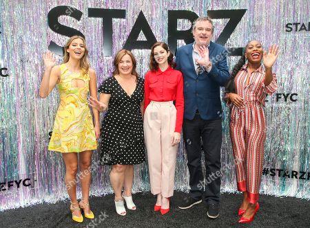 Stock Picture of Emma Frost, Matthew Graham, Nadia Parkes, Stephanie Levi-John, Charlotte Hope