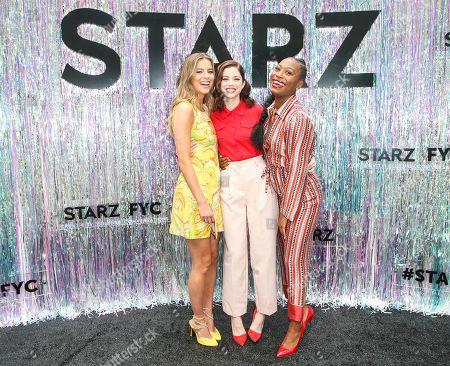 Nadia Parkes, Charlotte Hope, Stephanie Levi-John