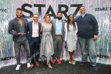 Stock Photo of Ricky Whittle, Omid Abtahi, Salli Richardson-Whitfield, Mousa Kraish, Yetide Badaki, Rodney Barnes