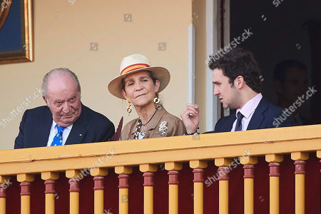 Juan Carlos of Spain, Princess Elena, Felipe de Marichalar y Borbon