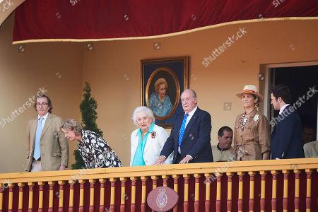 Simoneta Gomez-Acebo Borbon, Infanta Pilar, Juan Carlos of Spain, Princess Elena, Felipe de Marichalar y Borbon