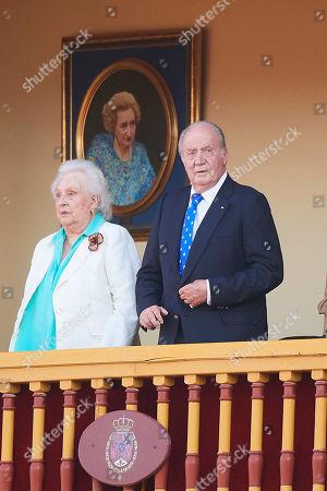 Infanta Pilar, Juan Carlos of Spain
