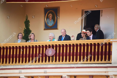 Editorial photo of Spanish Royals Attend Bullfight Tribute to Maria De Las Mercedes De Borbon, Madrid, Spain - 02 Jun 2019