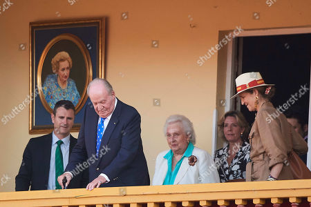 Juan Carlos of Spain, Infanta Pilar, Princess Elena