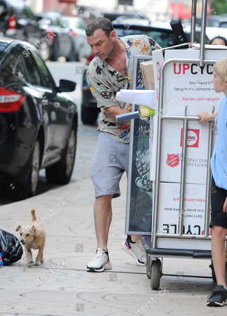 Editorial photo of Liev Schreiber out and about, New York, USA - 02 Jun 2019