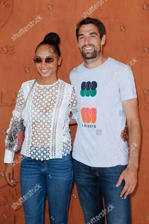 Stock Photo of Jeremy Chardy and his wife Susan Gossage