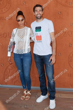 Editorial picture of Celebrities at Roland Garros 2019 French Open, Day Five, Paris, France - 02 Jun 2019
