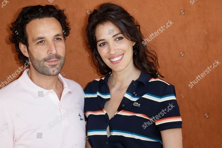 Laurie Cholewa and her companion Greg Levy