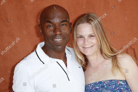 Lucien Jean-Baptiste and Aurelie Nollet