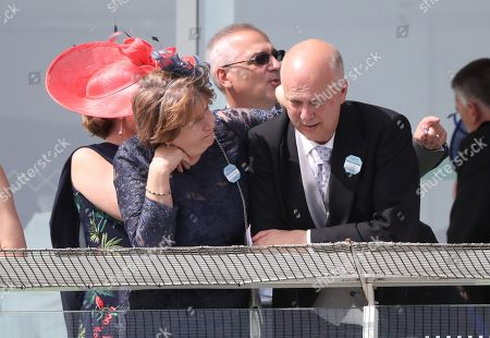 Chris Grayling (Transport minister) and his wife Susan Clare Dillistone