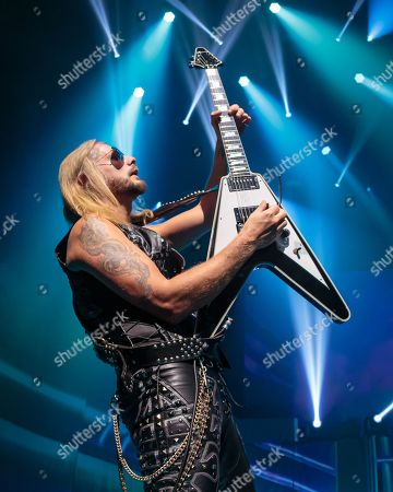Editorial image of Judas Priest in concert, Austin, USA - 29 May 2019
