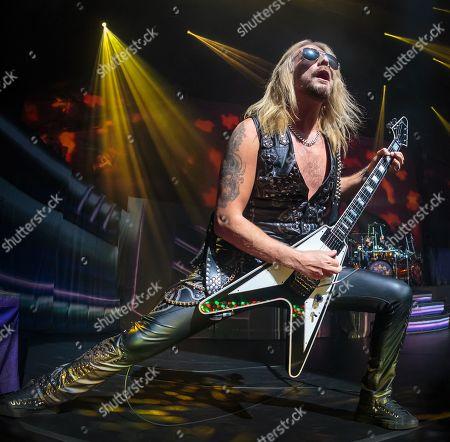 Stock Picture of Judas Priest - Richie Faulkner