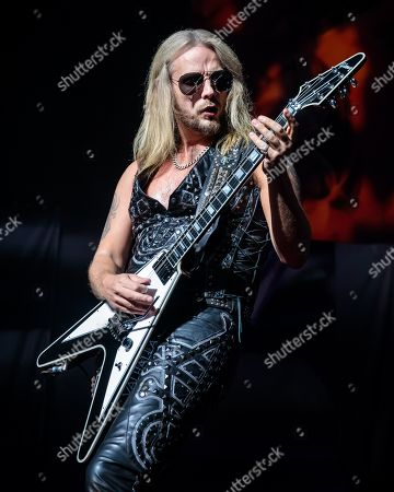 Stock Image of Judas Priest - Richie Faulkner