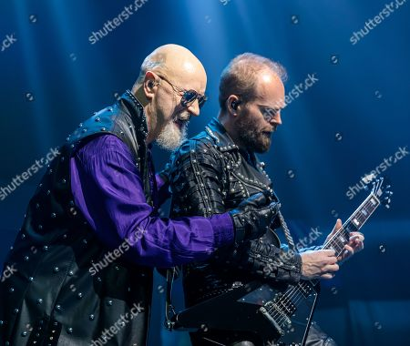 Editorial photo of Judas Priest in concert, Austin, USA - 29 May 2019