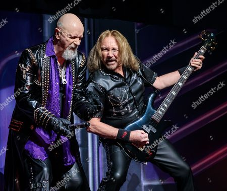 Judas Priest - Rob Halford and Ian Hill