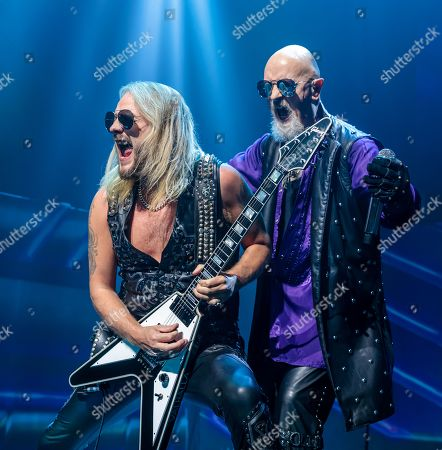 Stock Picture of Judas Priest - Richie Faulkner and Rob Halford