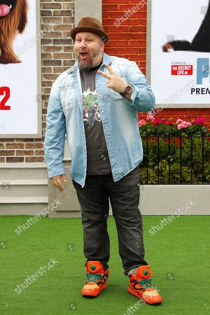 Stephen Kramer Glickman arrives for the premiere of The Secret Life of Pets 2 at the Regency Village Theater in Westwood, Los Angeles, California, USA, 02 June 2019. The movie opens in the US on 07 June 2019.