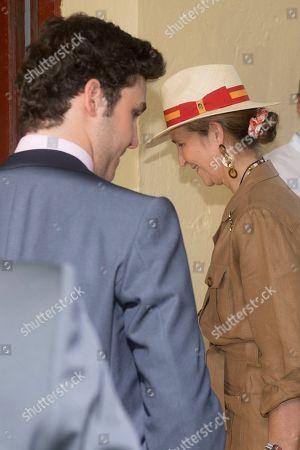 Princess Elena and her son Froilan Marichalar