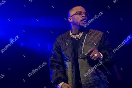Tory Lanez performs at HOT 97 Summer Jam 2019 at MetLife Stadium, in East Rutherford, New Jersey