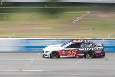 Monster Energy NASCAR Cup Series driver Aric Almirola (10) races down the straightaway during the Pocono 400 at Pocono Raceway in Long Pond, PA Daniel Lea/CSM