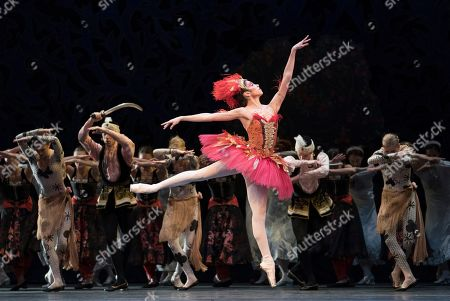 Stock Picture of Yasmine Naghdi as The Firebird
