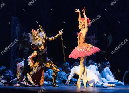 Yasmine Naghdi as The Firebird, Gary Avis as Kostchei