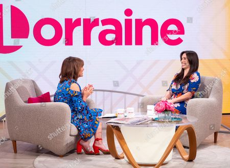Lorraine Kelly and Julia Goulding