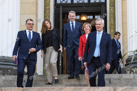 Editorial image of New Finnish Government Programme announcement in Helsinki, Finland - 03 Jun 2019