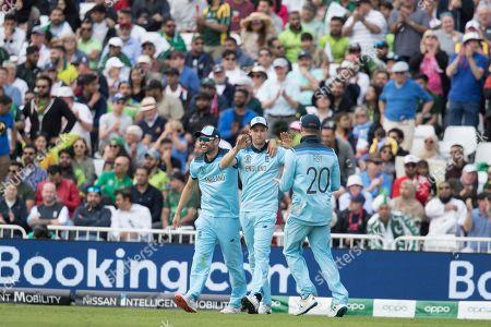Editorial image of England vs Pakistan, ICC World Cup, Cricket, Trent Bridge, Nottingham, Nottinghamshire, United Kingdom - 03 Jun 2019