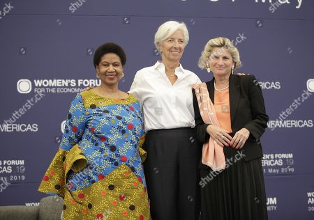 Editorial image of Women's Forum for the Economy and Society Event, Mexico City, Mexico - 30 May 2019