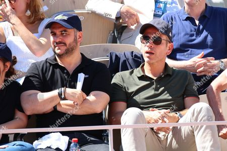 Francois-Xavier Demaison and Medi Sadoun