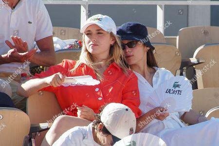 Chloe Jouannet and Lola Le Lann