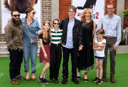 Dana Carvey and family