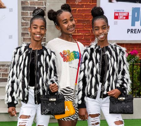 Jessie Combs, Chance Combs, D'Lila Combs (the daughters of Sean Combs)