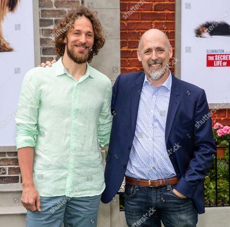 Stock Photo of Jonathan Del Val and Chris Renaud