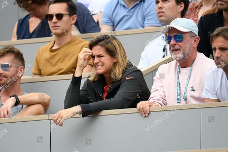 Amelie Mauresmo and Loic Courteau