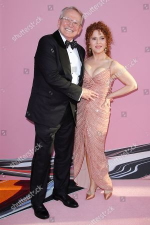 Bob Mackie and Bernadette Peters