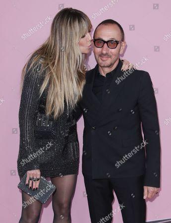 Heidi Klum and Gilles Mendel