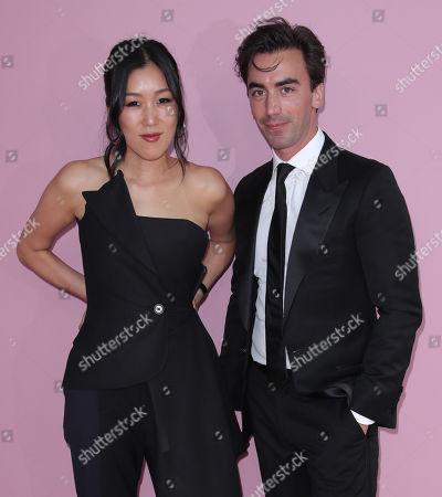 Stock Photo of Laura Kim and Dominican Fernando Garcia